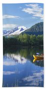 Alaskan Kayaker Bath Towel