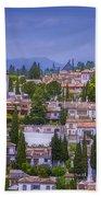 Albayzin View Granada Bath Towel
