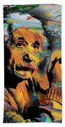 Albert Einstein - By Prar Bath Towel