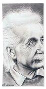 Albert Einstein  Bath Towel