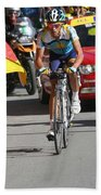 Alberto Contador - Mountain Stage Hand Towel by Travel Pics