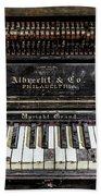 Albrecht Company Piano Bath Towel