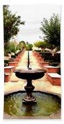 Alcazaba Fountain Bath Towel