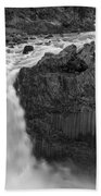 Aldeyjarfoss Waterfall Iceland 3353 Bath Towel