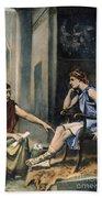 Alexander & Aristotle Bath Towel