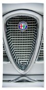 Alfa-romeo Grille Emblem Bath Towel