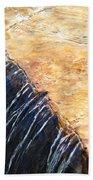 Alfred Caldwell Lily Pool Waterfall Bath Towel