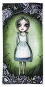 Alice In The Deadly Garden Bath Towel