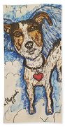 All Dogs Go To Heaven Bath Towel