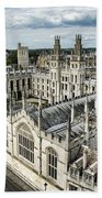 All Souls College - Oxford University Bath Towel