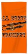 All State Trumpet Bath Towel