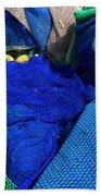 All The Blue Of The Sea Bath Towel