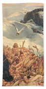 All Things Die  But All Will Be Resurrected Through God's Love Bath Towel