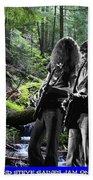 Allen And Steve On Mt. Spokane Bath Towel