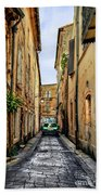 Alley In Avignon Bath Towel