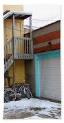Alleyway Bike Bath Towel