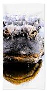 Alligator Fangs 2 Bath Towel