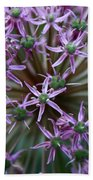 Allium Macro Bath Towel