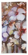 Almonds Blossom  2 Bath Towel