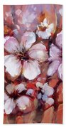 Almonds Blossom  8 Bath Towel