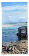 Along The Peaceful Shores  Hand Towel