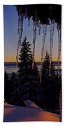 Alpenglow Claws Bath Towel