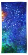 Alpha Centauri Abstract Moods Bath Towel