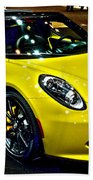 Alpha Romeo 4c Spider Bath Towel
