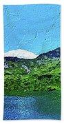 Alpine Lake Hand Towel