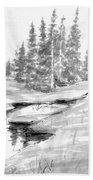 Alpine Meadow Hand Towel