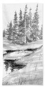 Alpine Meadow Bath Towel