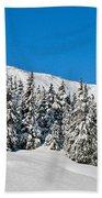 Alpine Winter Bath Towel