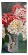 Altadena Roses Hand Towel