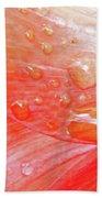 Amaryllis Dew Drops Bath Towel