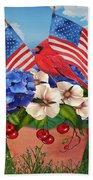 America The Beautiful-jp3210 Bath Towel