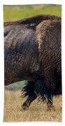 American Bison - Antelope Island - Utah Bath Towel