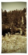 American Bison Vintage 2 Bath Towel