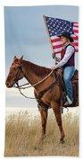 American Cowgirl Bath Towel