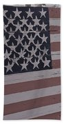 American Flag Shop Bath Towel