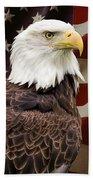American Freedom Bath Towel by Dale Kincaid