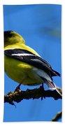 American Goldfinch 1 Bath Towel
