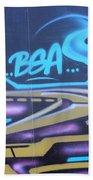 American Graffiti Bath Towel