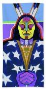 American Indian By Nixo Bath Towel