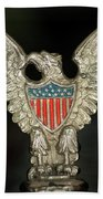 American Metal Eagle Bath Towel