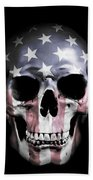 American Skull Hand Towel