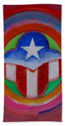 American Star Button Bath Towel
