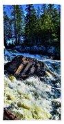 Amincon River Rootbeer Falls Hand Towel