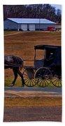 Amish Buggy Bath Towel