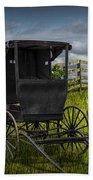 Amish Horse Buggy Bath Towel