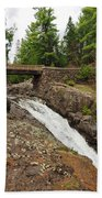 Amity Creek Falls Bath Towel